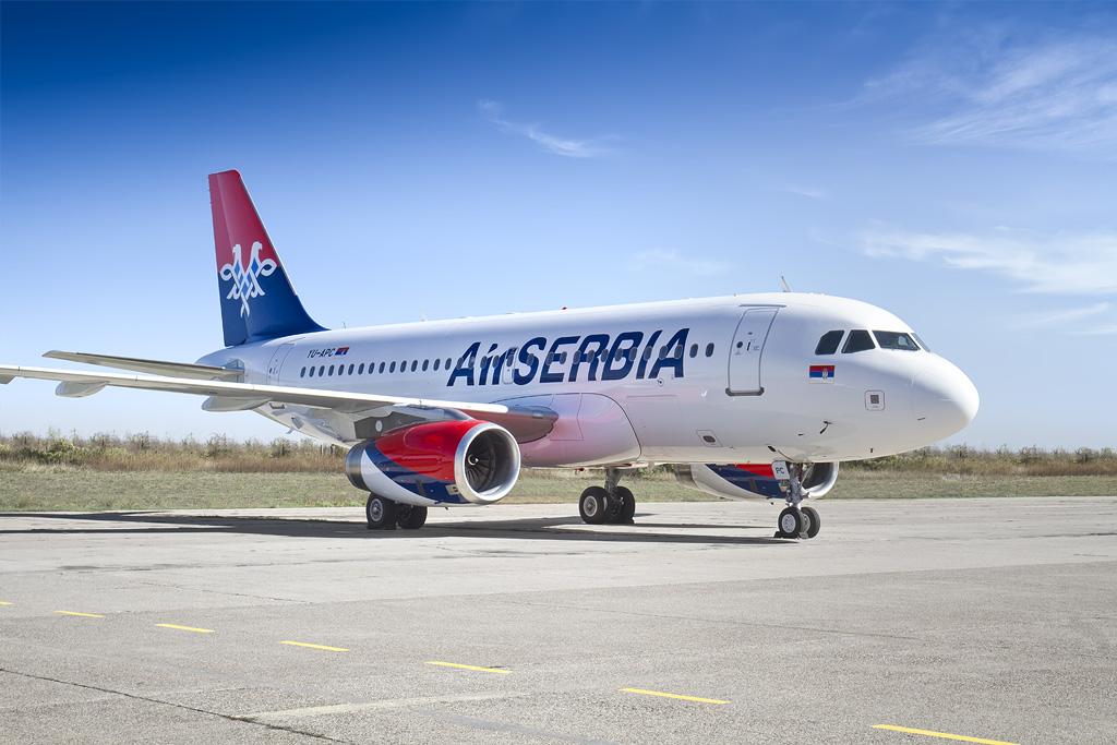 Air Serbia aircraft