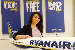 Chiara Ravara, Ryanair