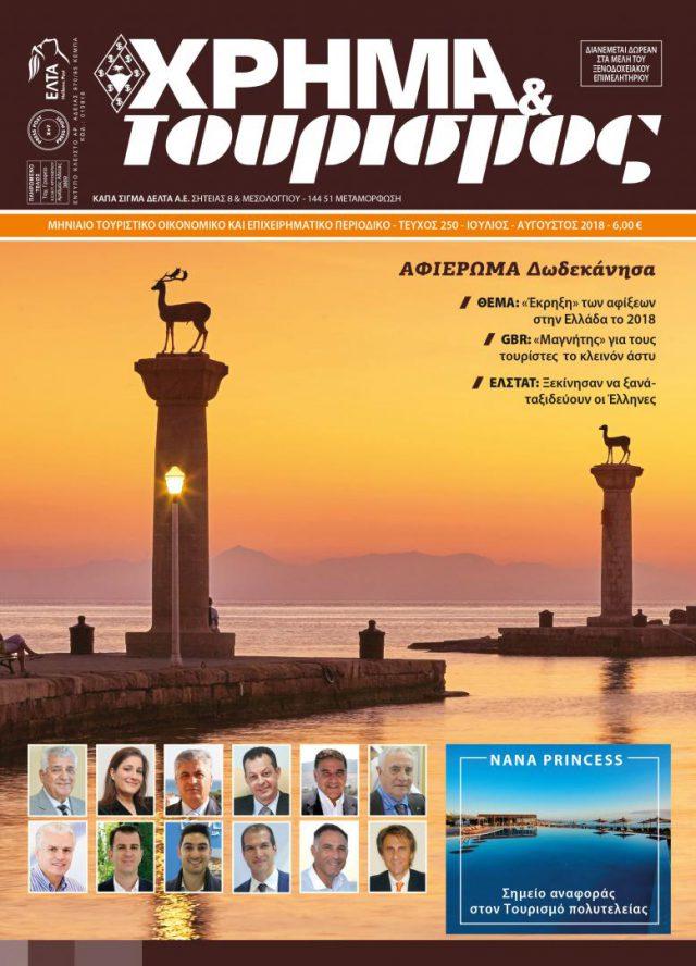 xrhma & tourismos