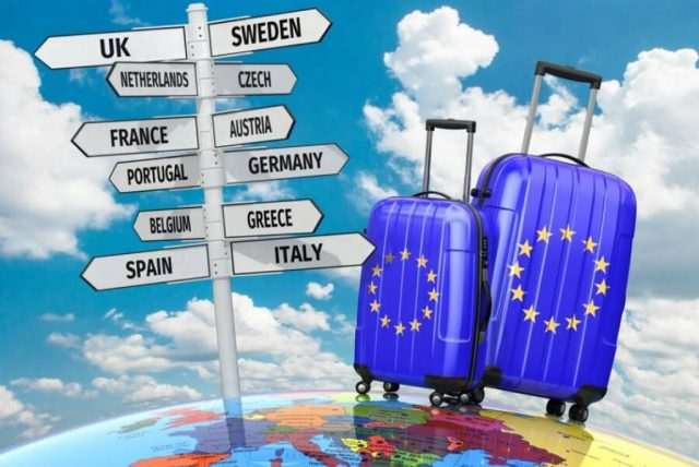 European outbound travel