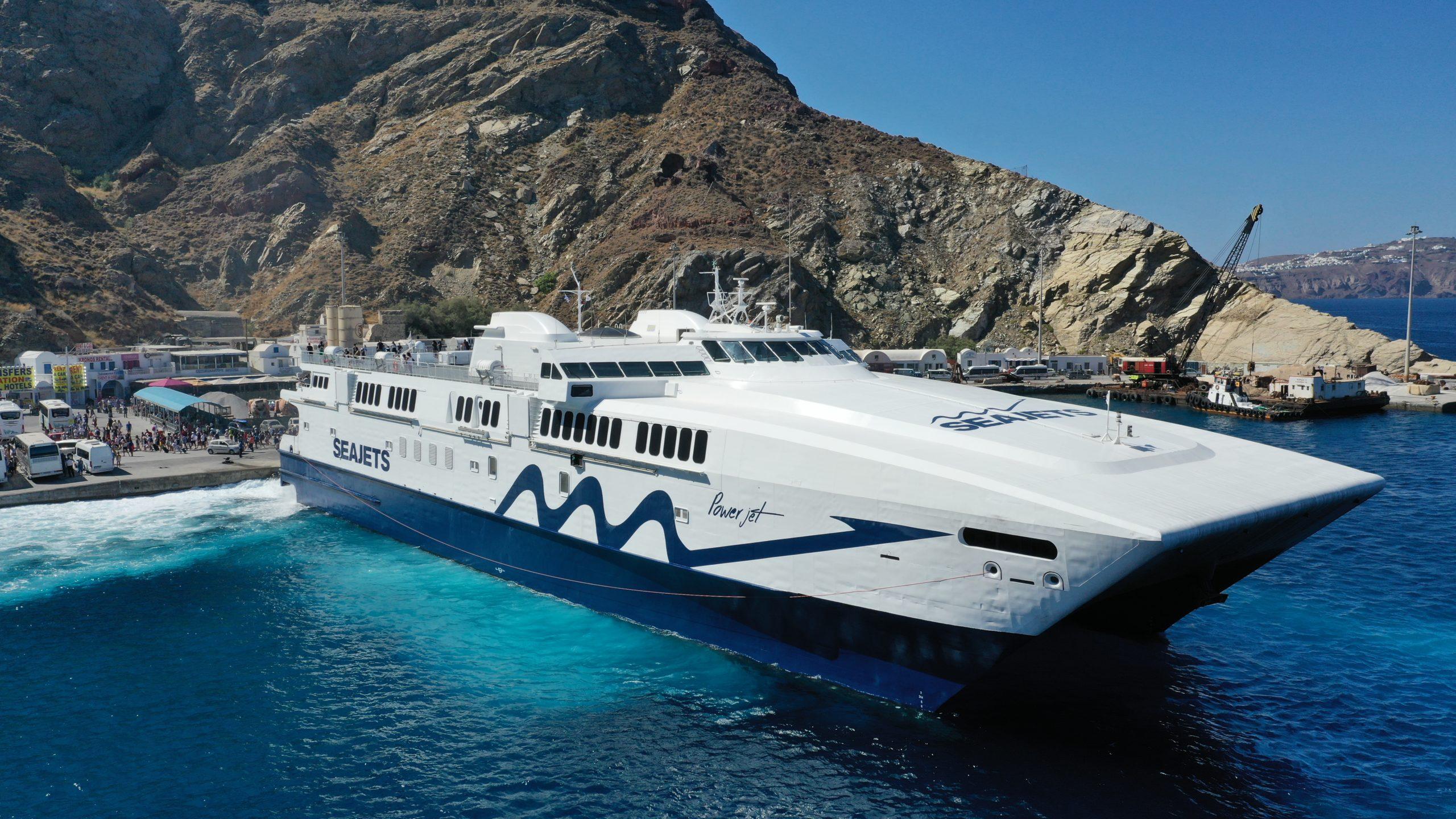 seajets new ship