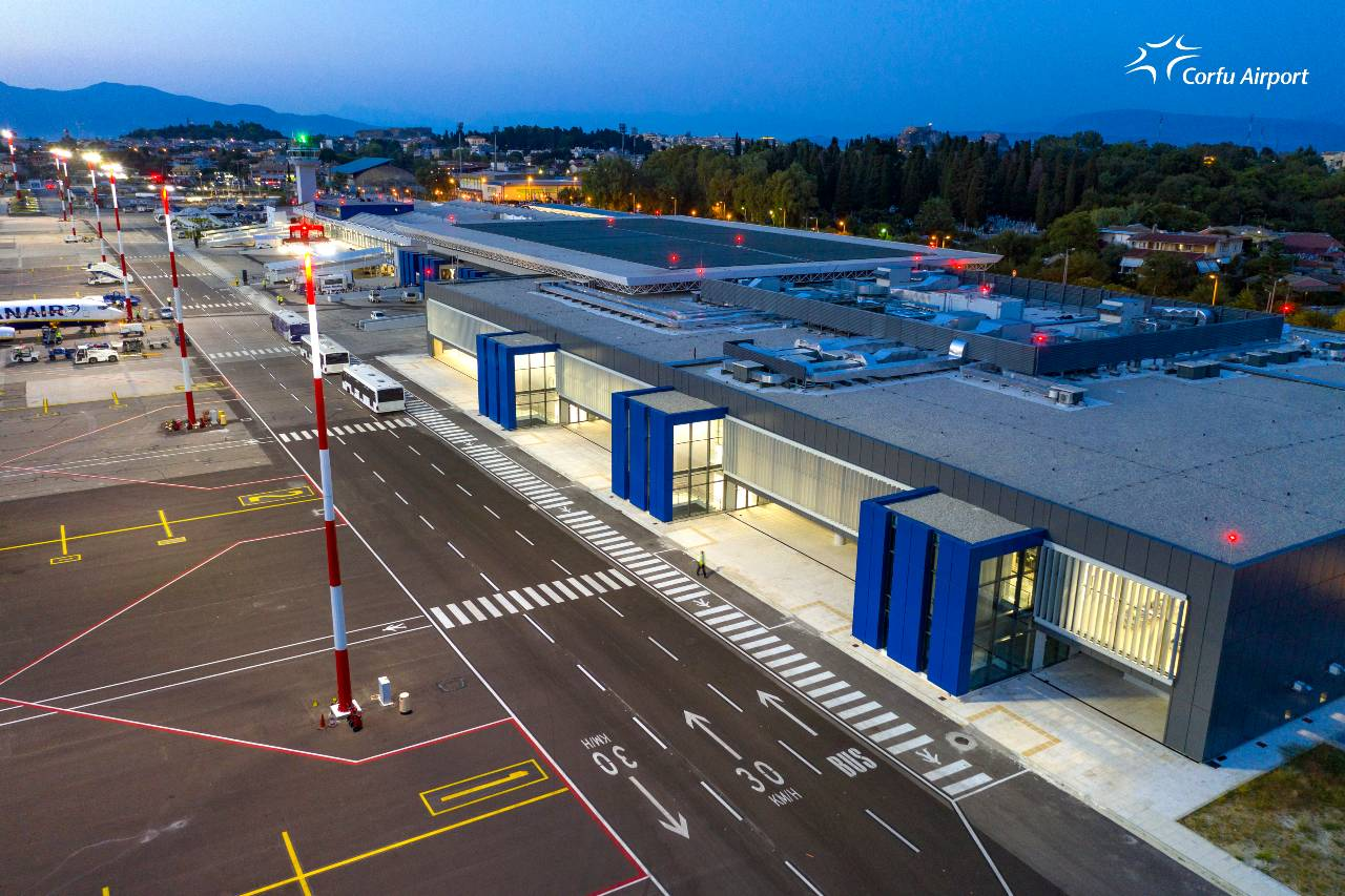 Corfu airport New Terminal