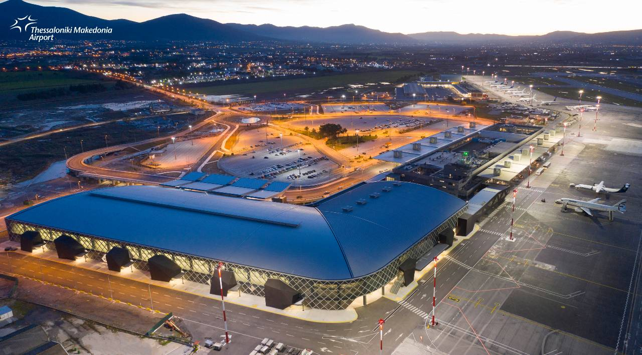 Thessaloniki airport Makedonia New Terminal 2021 1