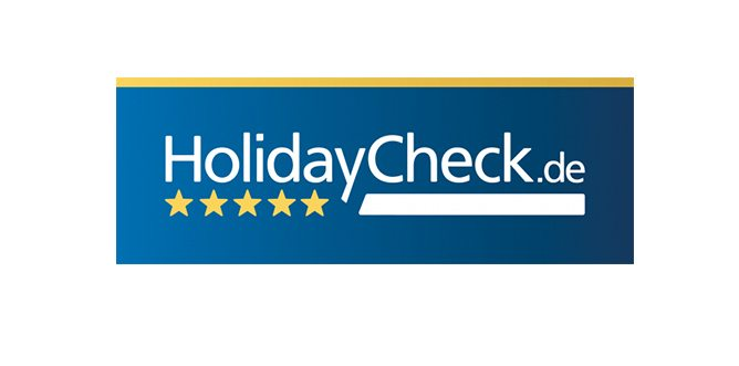 Holiday check logo