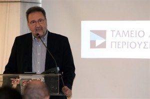 Ο επικεφαλής του ΤΑΙΠΕΔ Στέργιος Πιτσιόρλας